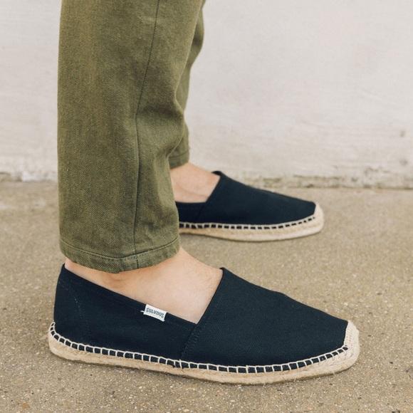 6dee866cdd4f1 Soludos Shoes | Mens Original Dali In Black Size 8 | Poshmark